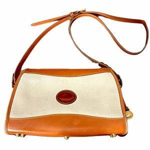 Vintage Dooney & Bourke Equestrian Handbag